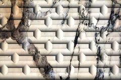 Mur, brique, fissures sur de vieux murs vénitiens antiques dessins image libre de droits