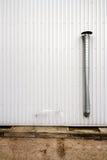 Mur cannelé en métal image libre de droits