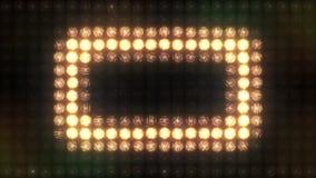 Mur carré de lumière clignotante d'impulsion clips vidéos