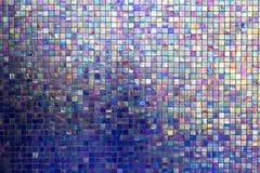 mur carré de mosaïque d'arc-en-ciel Image stock