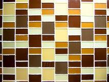 Mur carré de pneu Photographie stock libre de droits