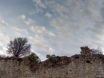 Mur cassé Photo libre de droits