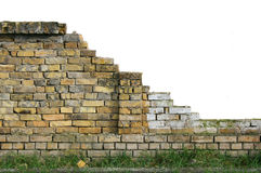 Mur cassé Image stock