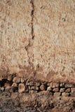 Mur cassé Images stock
