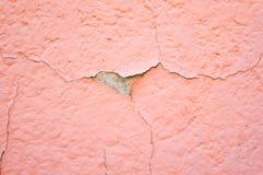 Mur cassé Photos stock