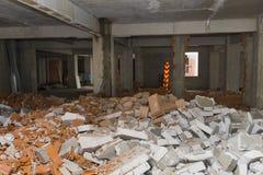 Mur cassé Images libres de droits