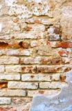 Mur cimenté de émiettage Images stock