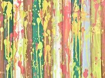 Mur coloré Image libre de droits