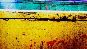 Mur coloré Photos libres de droits
