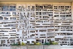 Mur comme oeuvre d'art Photos libres de droits