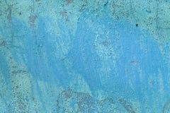 Mur concret de vieux cru criqué sale grunge et de ciment de moule de texture ou fond bleu-clair de plancher images libres de droits