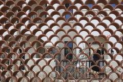Mur creux Photos libres de droits