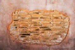 Mur criqué Photographie stock