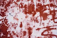 Mur criqué peint vieux par grunge Photographie stock libre de droits