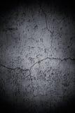 Mur criqué foncé Photo libre de droits