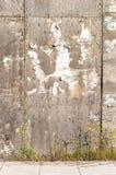 Mur déchiré d'affiche Photographie stock