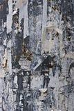 mur déchiré par papier en métal photos libres de droits