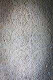 Mur décoratif dans le temple Photo libre de droits