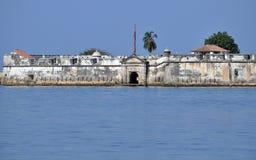 Mur défensif entourant le centre historique de Carthagène, Colombie photo stock