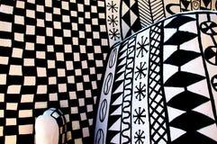 Mur d'Africian au soleil Image libre de droits