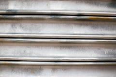 Mur d'aluminium de petit pain Photographie stock libre de droits
