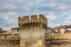 Mur d'Avignon Images libres de droits