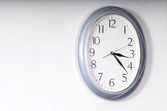 mur d'horloge Image libre de droits