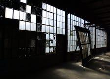 Mur d'hublot Photographie stock libre de droits