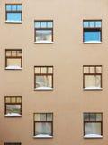 Mur d'une construction moderne. Images libres de droits