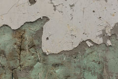 Mur de émiettage Image stock
