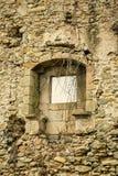 Mur de émiettage Photo libre de droits