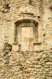 Mur de émiettage Images stock