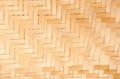 Mur de bambou d'art abstrait Photo libre de droits