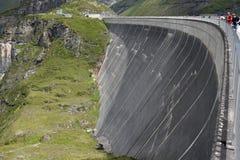 Mur de barrage photo libre de droits