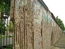 Mur de Berlin 04 Images libres de droits