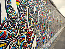 Mur de Berlin Photographie stock