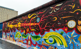 Mur de Berlin Photo libre de droits
