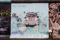 Mur de Berlin Images stock