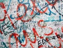 Mur de Berlin Sur Potsdamer Platz à Berlin Photographie stock libre de droits