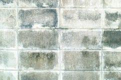 Mur de bloc de béton Photo libre de droits