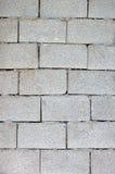 Mur de bloc de cendre Photographie stock