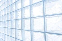 Mur de bloc en verre photos libres de droits