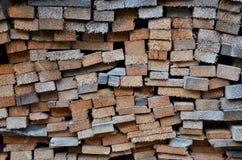 Mur de bois Images libres de droits