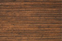Mur de bois de construction Photographie stock libre de droits