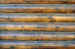 Mur de bois de construction Images stock