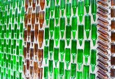 Mur de bouteille Photographie stock