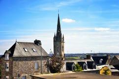 Mur de Bretagne ist ein kleines Dorf im Norden von Frankreich Lizenzfreie Stockbilder
