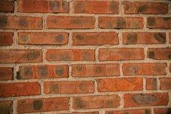 Mur de brique rouge Image libre de droits