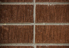 Mur de brique rouge Photo stock