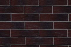 Mur de brique rouge Photo libre de droits
